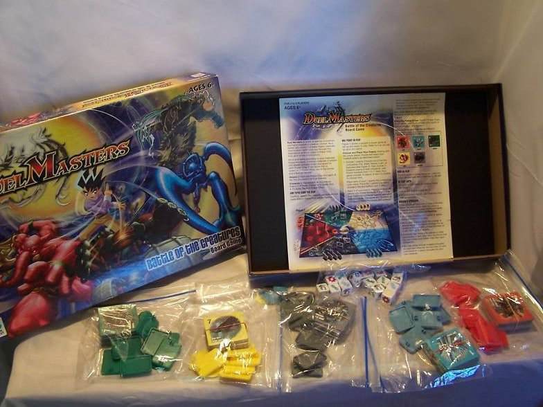 Image 2 of Duel Masters Board Game, Milton Bradley