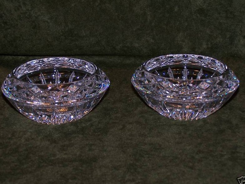 Image 1 of Princess House Lead Crystal Candleholders