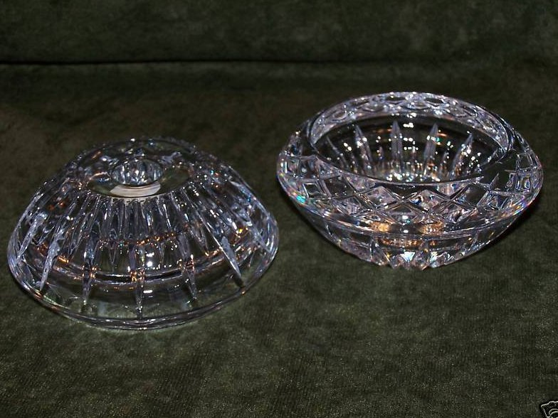 Image 2 of Princess House Lead Crystal Candleholders