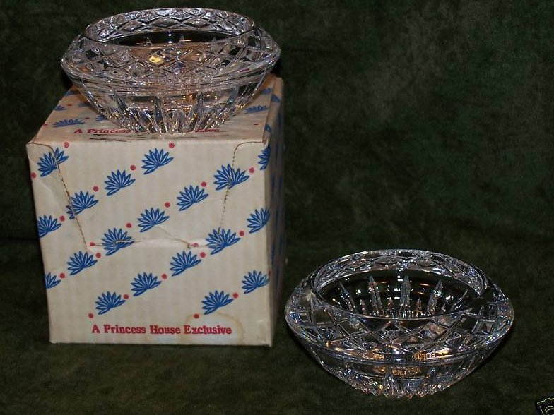 Image 3 of Princess House Lead Crystal Candleholders
