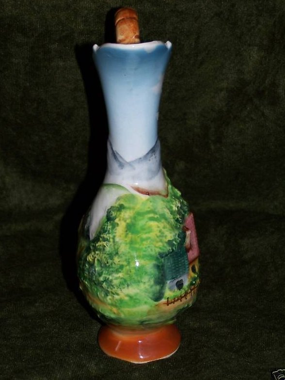 Image 1 of Artmark Sculpted Pitcher, Country Scenes, Artmark Originals