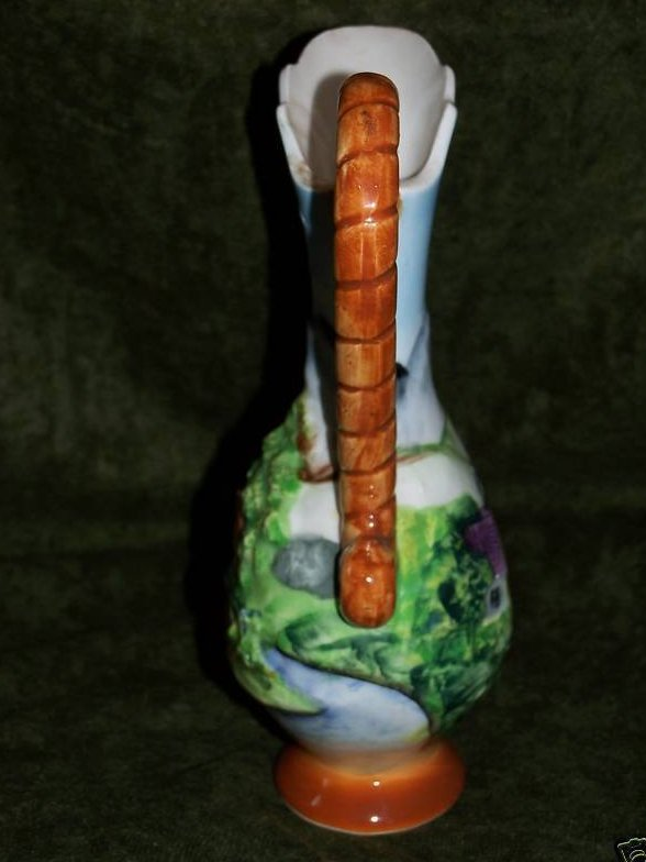 Image 3 of Artmark Sculpted Pitcher, Country Scenes, Artmark Originals
