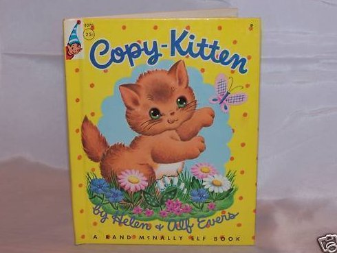 Copy-Kitten, Rand McNally Elf Book, First Edition