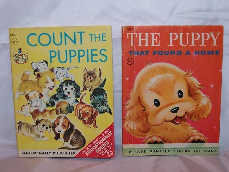 Count the Puppies and The Puppy, 2 Books, Rand McNally