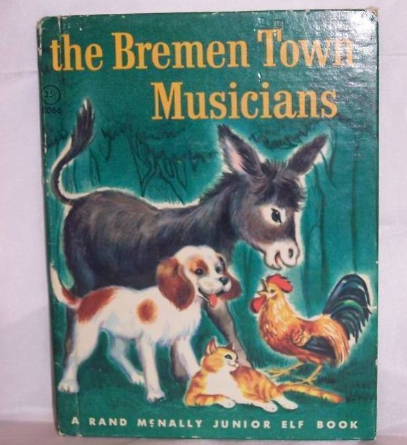 Bremen Town Musicians Rand McNally Elf Book 1st Edition