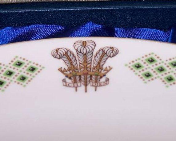 Image 2 of 1969 Prince Charles Caernarvon Spode Plate, Orig Box