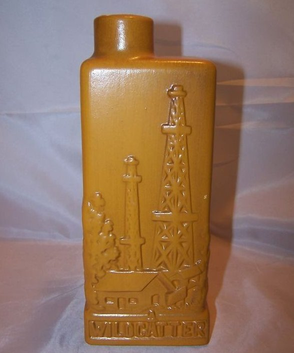 Eric Olson Wildcatter Decanter, Bottle, 1968