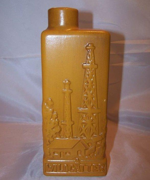 Eric Olson Wildcatter Decanter, Bottle, 1968