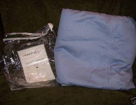 Full Queen Sized Blue Duvet Cover