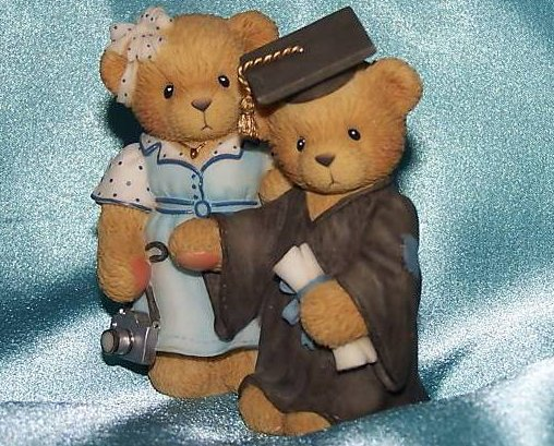 Cherished Teddies Graduation a Mother's Pride, New
