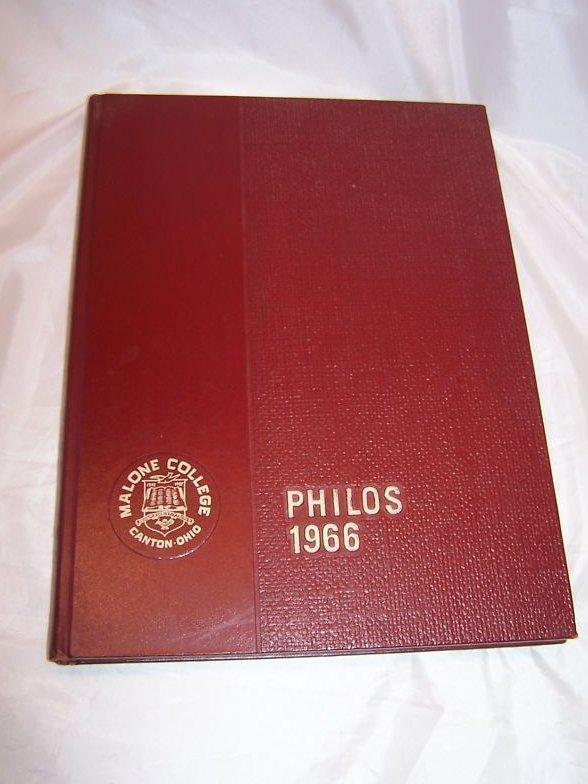 1966 Malone College, Canton, Ohio, Annual Yearbook