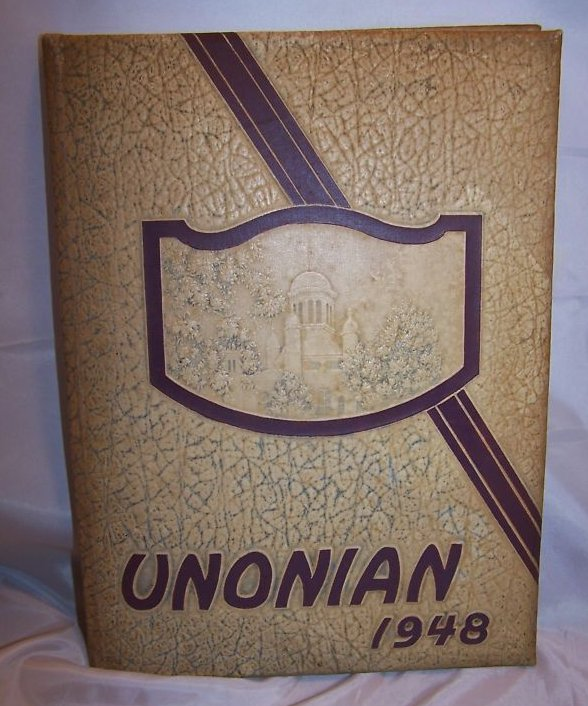 1948 Mount Union College Yearbook, Alliance OH w Bonus