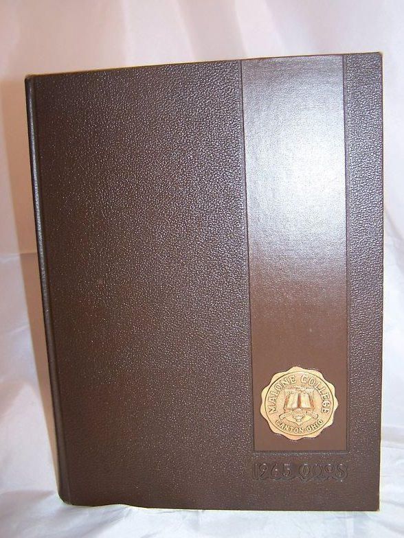 1965 Malone College, Canton, Ohio, Annual Yearbook