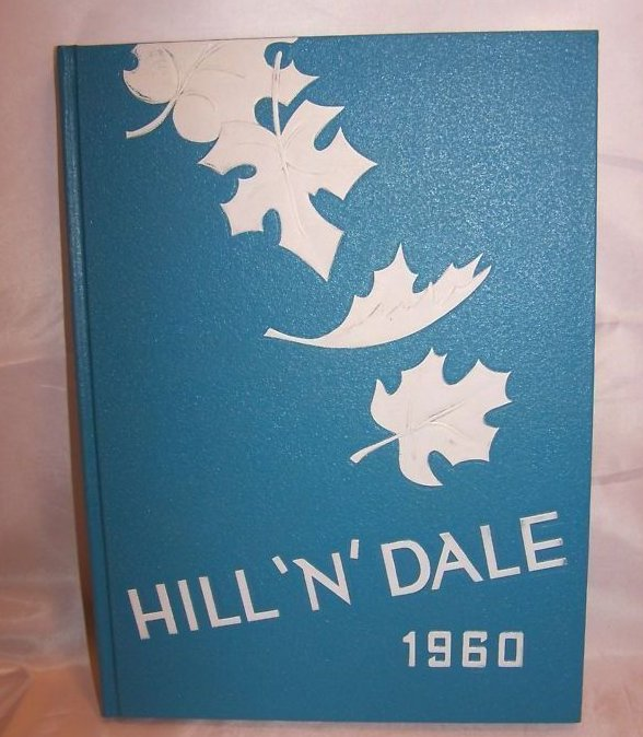 1960 Hill N Dale Waynedale High Yearbook Apple Crk OH Free Shipping