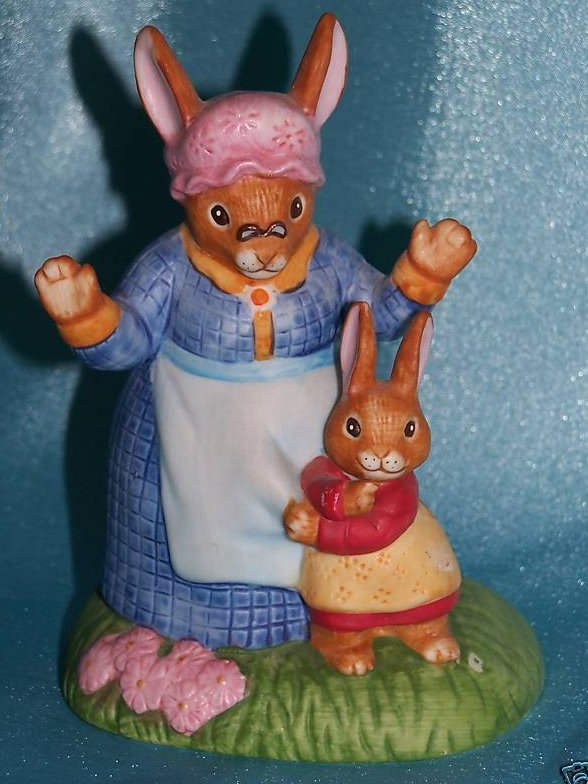 Beatrix Potter Tale of Benjamin Bunny Figurine by Sigma
