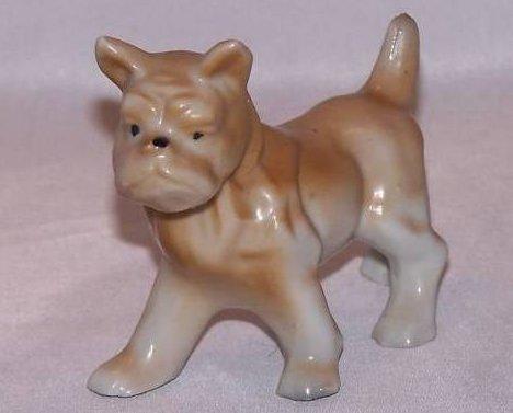 Boxer Dog Puppy, Vintage Japan, Brown