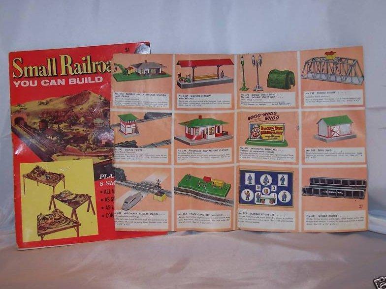 Small Railroads You Can Build Model Railroader, 1954
