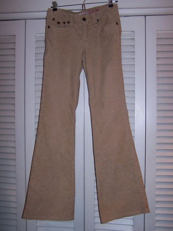 Juniors Sz 0 Aeropostale Brown Corduroy Pants