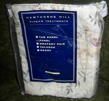 American Pacific Hawthorne Hill Panel Curtain, New