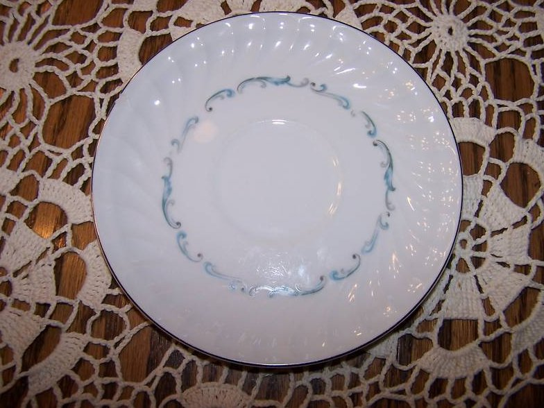 Celebrity Fine China Evening Tide Saucer, Chipped, Japan