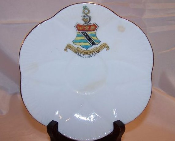 The Foley China Saucer w Bridlington Shield, England