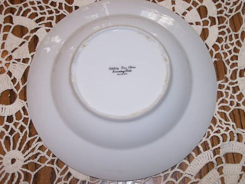 Image 1 of Celebrity Fine China Evening Tide Soup Bowl, Japan