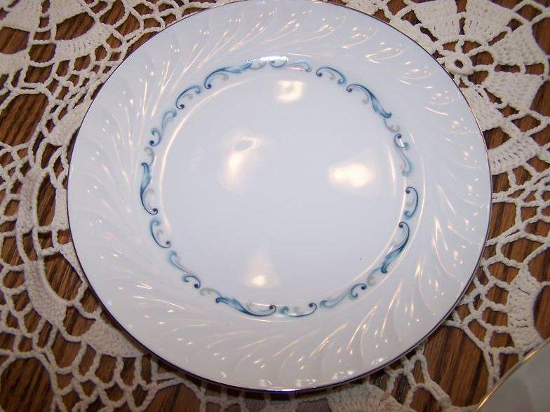 Celebrity Fine China Evening Tide Dinner Plate, Japan