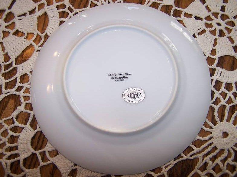 Image 1 of Celebrity Fine China Evening Tide Bread Plate, Japan