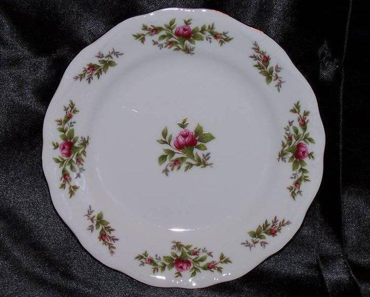 Johann Haviland Moss Rose Pattern Bread Plate
