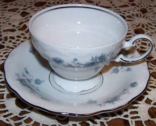Image 1 of  Johann Haviland Rose Bavaria Saucer Teacup Cup