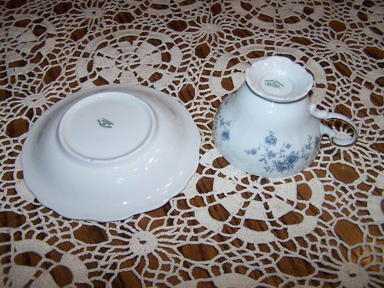 Image 3 of  Johann Haviland Rose Bavaria Saucer Teacup Cup