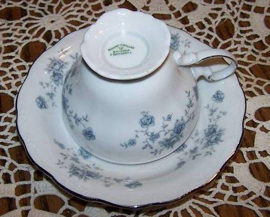 Image 4 of  Johann Haviland Rose Bavaria Saucer Teacup Cup