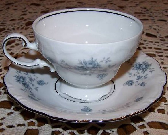 Johann Haviland Bavaria Germany Saucer Teacup Tea Cup