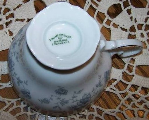 Image 3 of  Johann Haviland Bavaria Germany Saucer Teacup Tea Cup