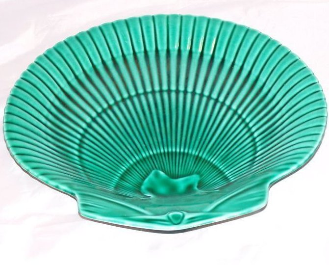 Image 2 of Wedgwood Seashell Shell Plate, Green, Stunning