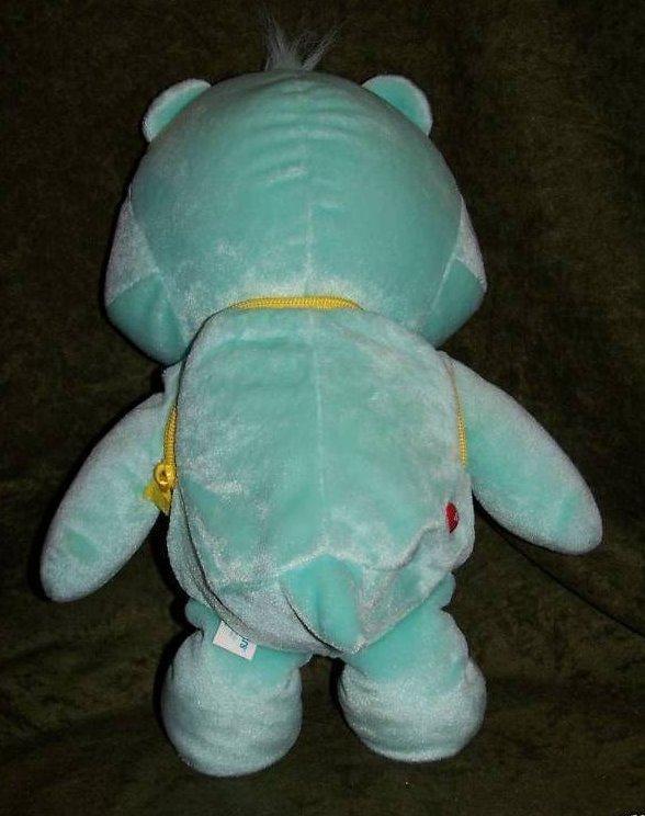 Image 4 of Backpack Wish Bear Care Bear Plush, Stuffed Animal