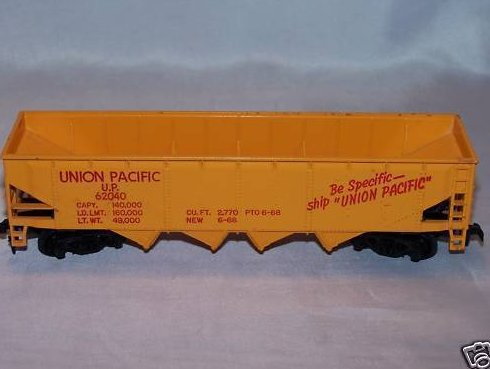 Union Pacific U.P. 62040, Electric Train Cargo Car