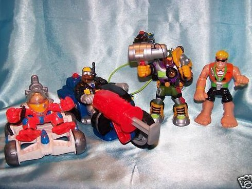 Rescue Hero Heroes Vehicles, Action Figures, Fisher Price