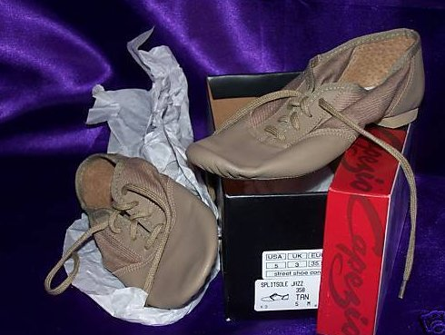 New in Box 5 M Split Sole Jazz Dance Shoes