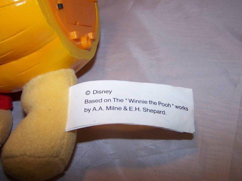 Image 5 of Music Box Winnie the Pooh and Pumpkin, Disney