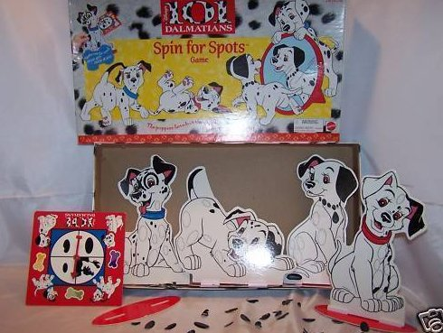 Image 0 of Disney 101 Dalmatians Spin for Spots Game, Incomplete