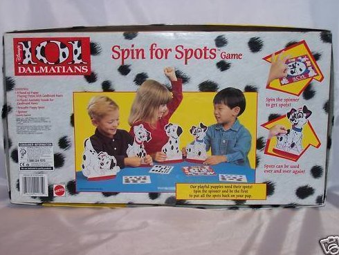 Image 1 of Disney 101 Dalmatians Spin for Spots Game, Incomplete