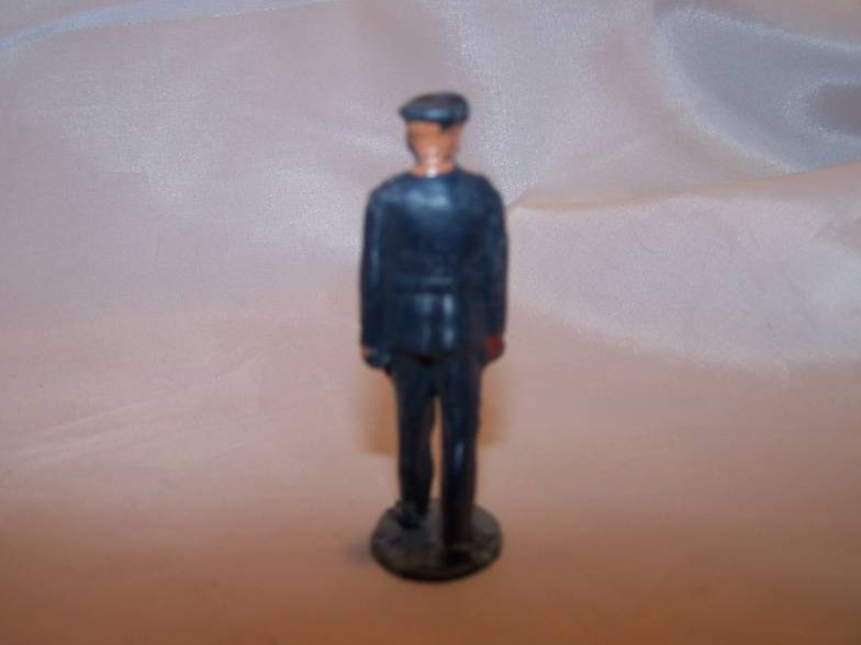 Image 2 of Toy Plastic Officer in Mid-Stride, Dress Uniform