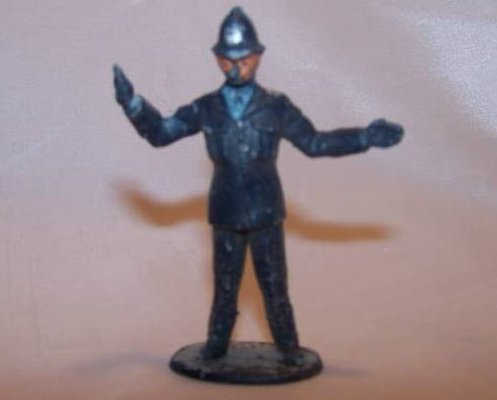 Image 0 of Toy Plastic London Bobby Police, Directing Traffic