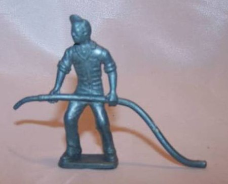 Image 0 of Toy Plastic Air Force Soldier, Carrying Plane Fuel Hose