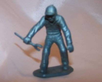 Toy Plastic Air Force Soldier, Carrying Wrench