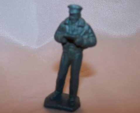 Toy Plastic Air Force Officer, Pilot