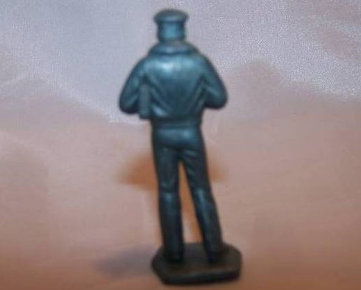 Image 1 of Toy Plastic Air Force Officer, Pilot