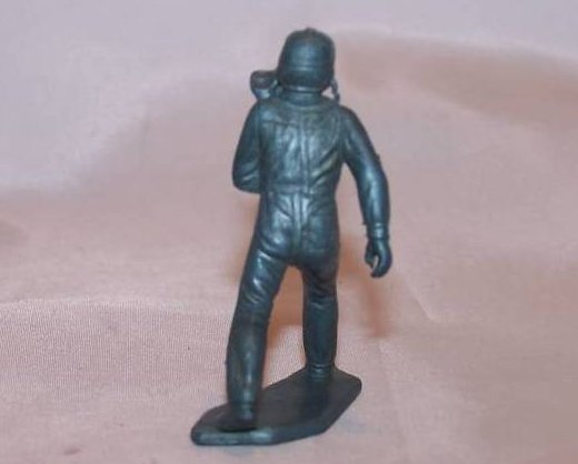 Image 1 of Toy Plastic Air Force Pilot, Running