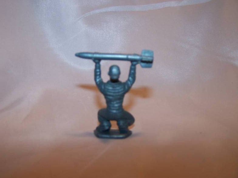 Image 1 of Toy Plastic Air Force Soldier Loading Missile
